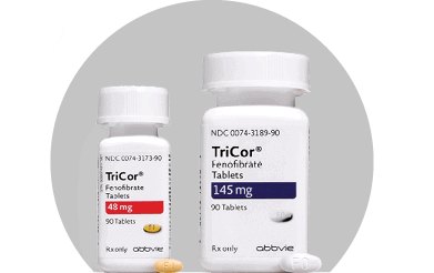 TriCor prescription; 48 mg tablets; 145 mg tablets
